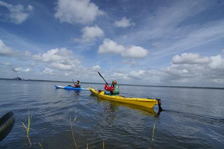 itinérance à la pagaie sur les grands Lacs